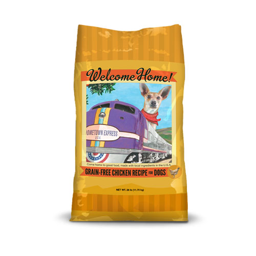 Welcome home grain free chicken recipe dry dog food 26 lb bag chicken recipe dry dog food 26 lb bag chicken26final forumfinder Image collections