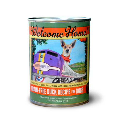 Welcome Home Duck Canned Dog Food